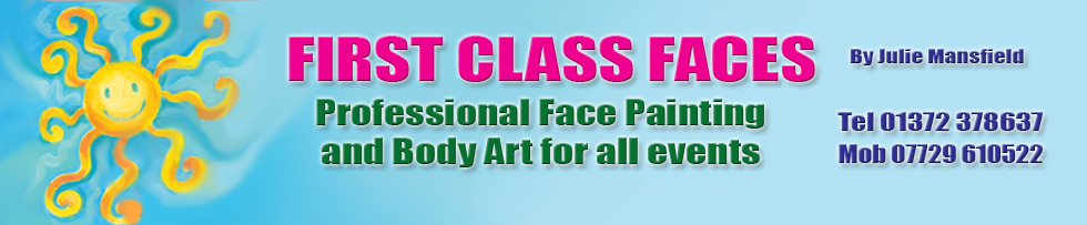 First Class Face Painting
