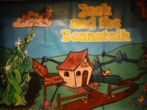 Jack and the Beanstalk back drop