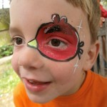 Angry Birds Face Painting