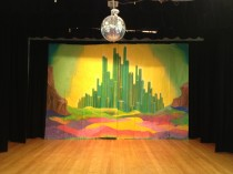 Wizard of Oz back drop, 5m x 3m