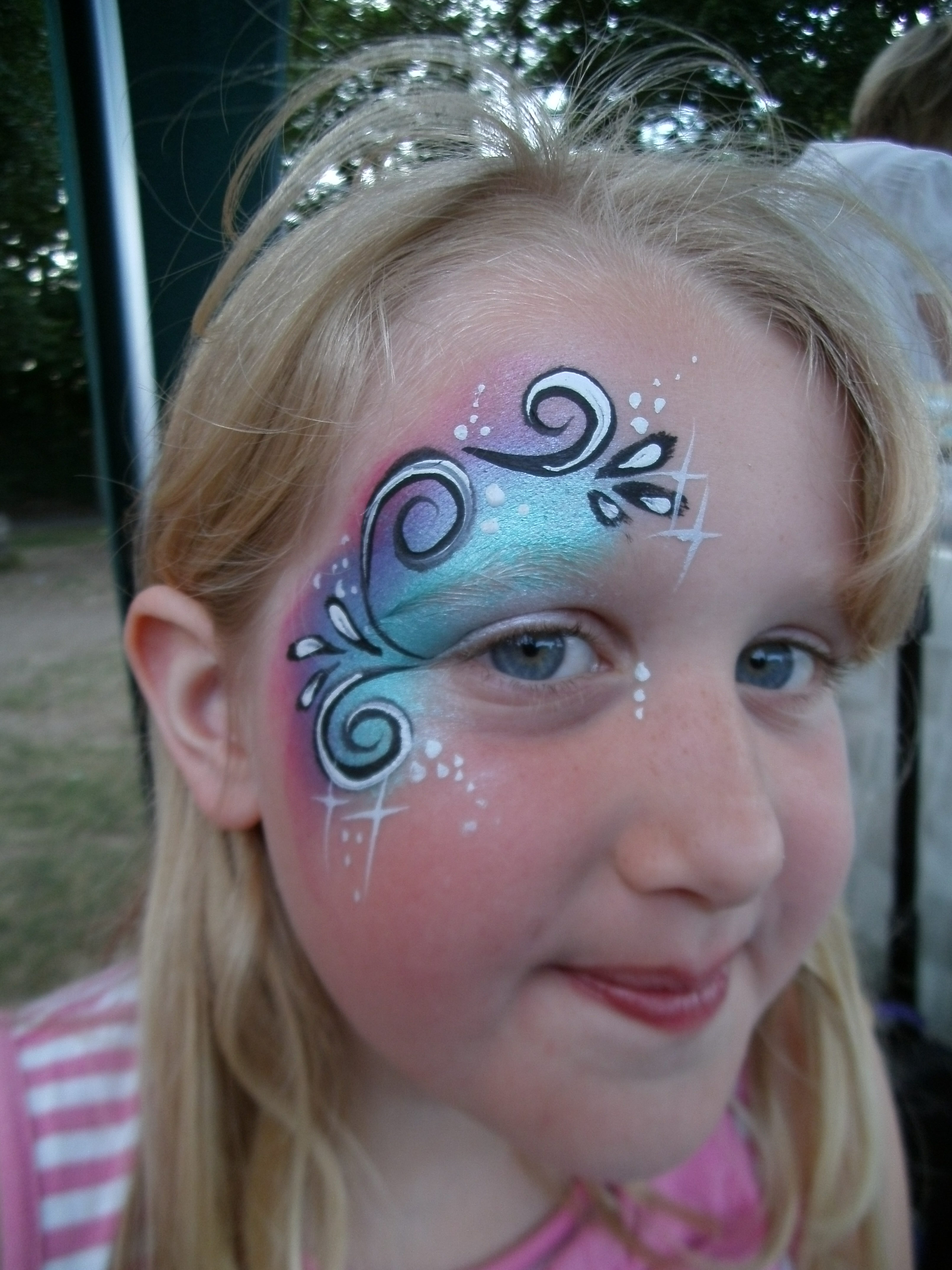 Popular With Older Girls First Class Face Painting