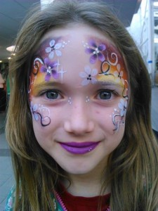 Face Painting at Guildford Spectrum
